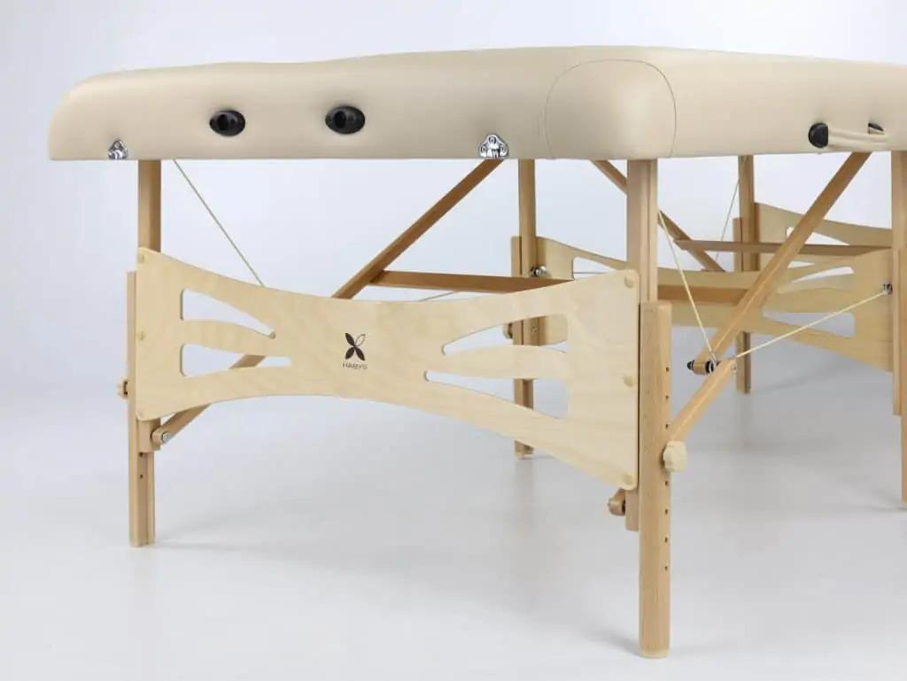 Odolná drevená konštrukcia z prírodného bukového dreva