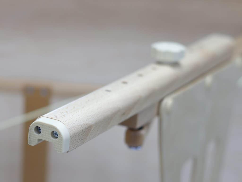 Protišmykové, neznačkujúce nožičky vyrobené z odolnej gumy