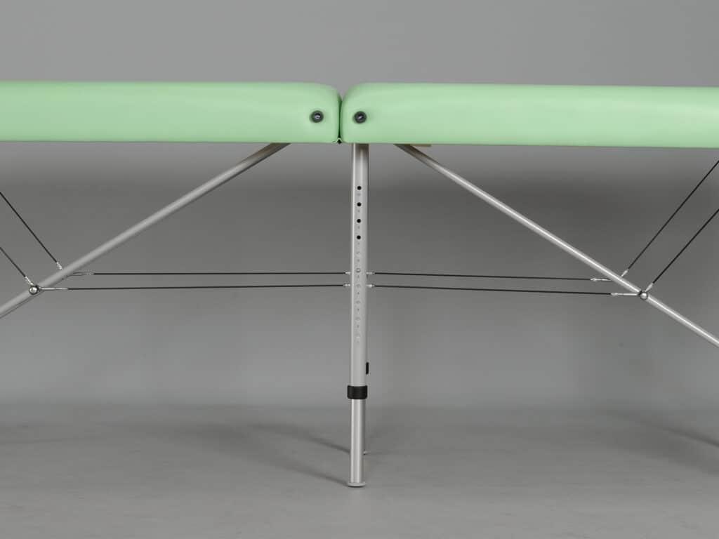 Výnimočná stabilita vďaka dodatočnej tretej stabilizačnej nohe. Dynamický limit zaťaženia až 450 kg.